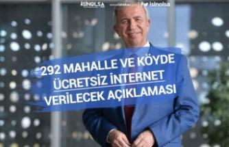 Ankara Belediyesi Türksat ile Köylere'de Ücretsiz İnternet Verecek! Mansur Yavaş Açıkladı!