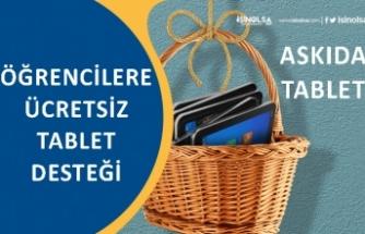 Belediye'den Eğitime Destek Bedava Tablet Kampanyası! Askıda Tablet!