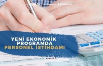 Hazine ve Maliye Bakanlığı Yeni Ekonomik Program YEP'te Personel İstidamı!