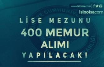 İçişleri Bakanlığı Lise Mezunu 400 Memur Alımı Yapıyor ( Bekçi Alımı )