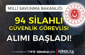İŞKUR'da MSB 94 Silahlı Güvenlik Görevlisi Alımı Başladı! 25 Şehirde Alım Yapılacak