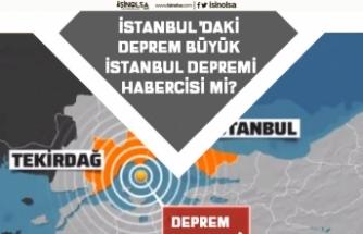 İstanbul'da ki Deprem! Uzmanlardan Büyük İstanbul Depremi Şiddetini Değiştirdi Açıklaması!
