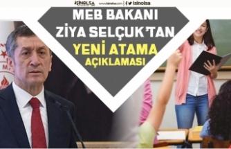 Milli Eğitim Bakanı Selçuk 2020'de Öğretmen Alımı Olacakmı? Ek Ders Ücreti Özlük Açıklaması!