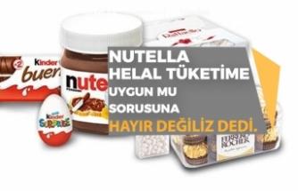 Nutella Gelen Soru Üzerine Helal Değiliz Dedi! ve Sonra Yüzde 90...