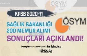 Sağlık Bakanlığı KPSS 2020/11 200 Memur Alımı Sonuçlarını ÖSYM Açıkladı!