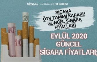 Sigara Zammı ÖTV Kararı Sonrası Güncel Sigara Fiyatları! Eylül 2020!