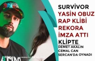 Survivor Yasin Obuz Ala Rap Şarkısı Rekor Kırdı! Cemal Can ve Sercan'da Klipte Oynadı!