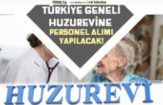 Türkiye Genelinde Huzurevlerinde Personel Alımı Yapılacak! Tecrübe Şartsız!