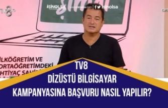 TV8 Dizüstü Bilgisayar Kampanyası! Haydi Şimdi'ye Başvuru Nasıl Yapılır? Acun Ilıcalı'dan Eğitim Desteği