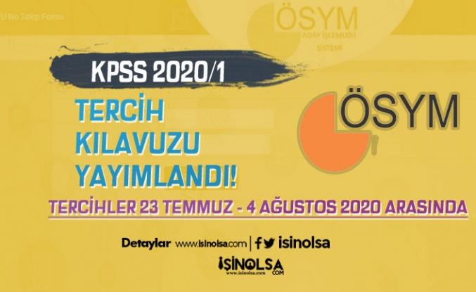 ÖSYM KPSS 2020/1 Tercih Kılavuzunu Yayımladı! Mülakatsız Memur Alımı Başladı!