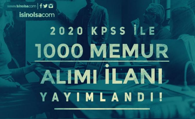 Başkanlığa Türkiye Geneli 1000 Memur Alımı İlanı Yayımlandı