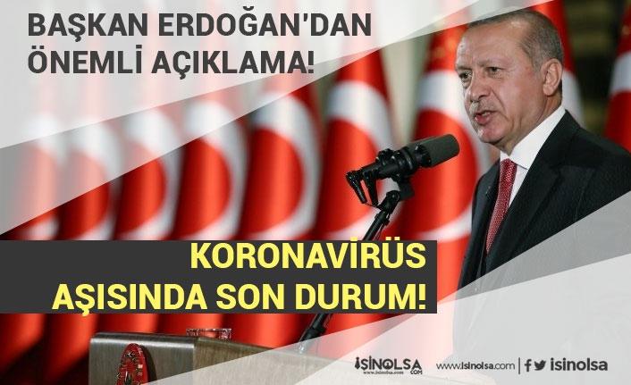 Başkan Erdoğan'dan Müjdeli, Korona Aşısı ve Kanal İstanbul Açıklaması!