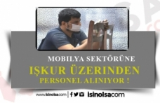 Mobilya Sektöründe Asgari Ücretin Üstünde Bin Kişi Alınacak!