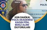 EGM, Polis Akademisi, Polis Alımı (Kadın PÖH) ve Bekçi Alımı Eğitimi Duyurusu!