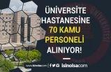 Süleyman Demirel Üniversitesi 70 Hasta Bakım Elemanı ve Güvenlik Görevlisi Alacak