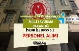 MSB İŞKUR'da KPSS Siz Personel Alımı İlanı Yayımladı! Başvurular Başladı