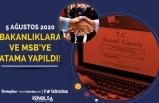 5 Ağustos Resmi Gazete Yayımlandı! Bakanlıklar ve MSB'ye Atama Yapıldı!