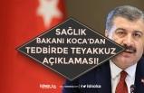 Sağlık Bakanı Koca Ardı Ardına Koronada Teyakkuz Açıklaması! Günlük Vaka Sayıları