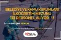 Belediye ve Kamu Kurumları İlköğretim Mezunu 123...