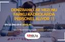 Denizbank Farklı Kadrolarda En Az Lise Mezunu Banka...