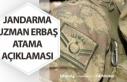 Jandarma Uzman Erbaş Alımı Eğitim Açıklaması!...