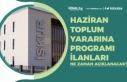 Haziran Toplum Yararı Programı Personel Alımı...