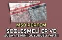 MSB PERTEM'den Sözleşmeli Er ve Subay Temini...