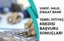 Vakıfbank, Ziraat ve Halkbank 10 Bin TL Temel İhtiyaç...