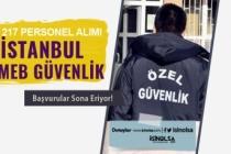İstanbul MEB Güvenlik Alımında Son Gün! 217 TYP Personel Alımı-2 Bin TL Maaş
