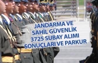 MSB Jandarma ve Sahil Güvenlik 3725 Subay Alımı Sonuçları! Fiziki Parkur Detayları