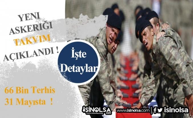 Yeni Askerlik Takvimi Açıklandı! 66 Bin Terhis Var!