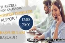 Turkcell Türkiye Geneli Evden Çalışacak Müşteri Temsilcisi Alacak!