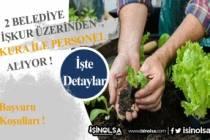 İŞKUR Üzerinden 2 Belediye Kura ile İlkokul Mezunu Personel Alacak!