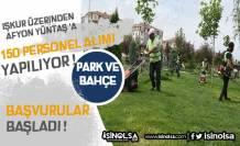 Afyon Yüntaş 150 Bahçıvan Alımı Yapacak! Başvuru Şartları Neler?