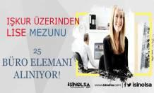 İzmir İzenerji KPSS Şartsız Lise Mezunu 25 Büro Görevlisi Alacak!