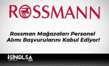 Rossman Mağazaları Personel Alımı Başvurularını Kabul Ediyor!