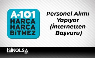 A101 Market Personel Alımı Yapıyor (İnternetten Başvuru)