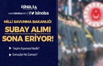 MSB Türk Silahlı Kuvvetleri Kadın Erkek 2021 Subay Alımı Sona Eriyor