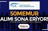 Sosyal Güvenlik Kurumu ( SGK ) 50 Memur Alımı Başvuru Süreci Bitiyor!