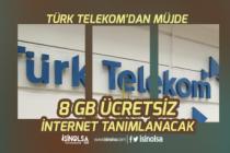 Türk Telekom, MEB EBA'dan Ücretsiz 8 GB İnternet Tanımlanmaya Başladı!