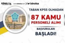 Necmettin Erbakan Üniversitesi 87 Kamu Personeli Alacak! Başvurular Başladı
