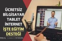 MEB Ücretsiz Dizüstü Bilgisayar! Askıda Tablet ve Ücretsiz İnternet Nasıl Alınır?