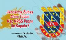 Jandarma Subay Alımı Taban Kaç KPSS Puanı ile Kapatır? Sınıflara Göre Puanlar