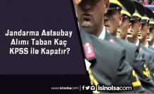 Jandarma Astsubay Alımı Taban Kaç KPSS ile Kapatır?