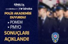 Polis Akademisi PMYO ve POMEM Eğitim Sonu Sınav Sonuçları Açıklandı