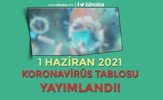 Haziran Ayı İlk Korona Virüs Tablosu Yayımlandı! 1 Haziran 2021