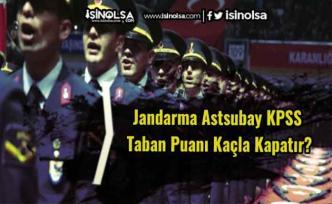 Jandarma Astsubay KPSS Taban Puanı Kaçla Kapatır?