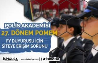 Polis Akademisi 27. Dönem POMEM FY Sınavı İçin Erişim Sorunu ( pa.edu.tr )