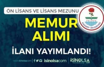 Kadıköy Belediyesi Lisans ve Ön Lisans Mezunu Memur Alımı İlanı Yayımlandı!