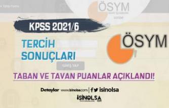 KPSS 2021/6 Tercih Sonuçları ve Lisans Ön Lisans Taban Atama Puanları Belli Oldu